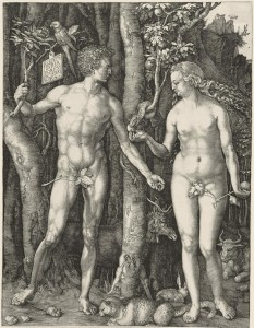 Dürer's Adam and Eve