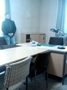 Stasi prison interrogation room