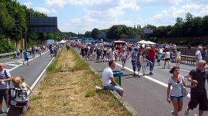 Still-Leben A40 Autobahn